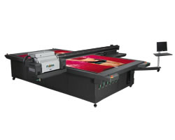 UV Hybrid Flatbed, Roll to Roll Printer